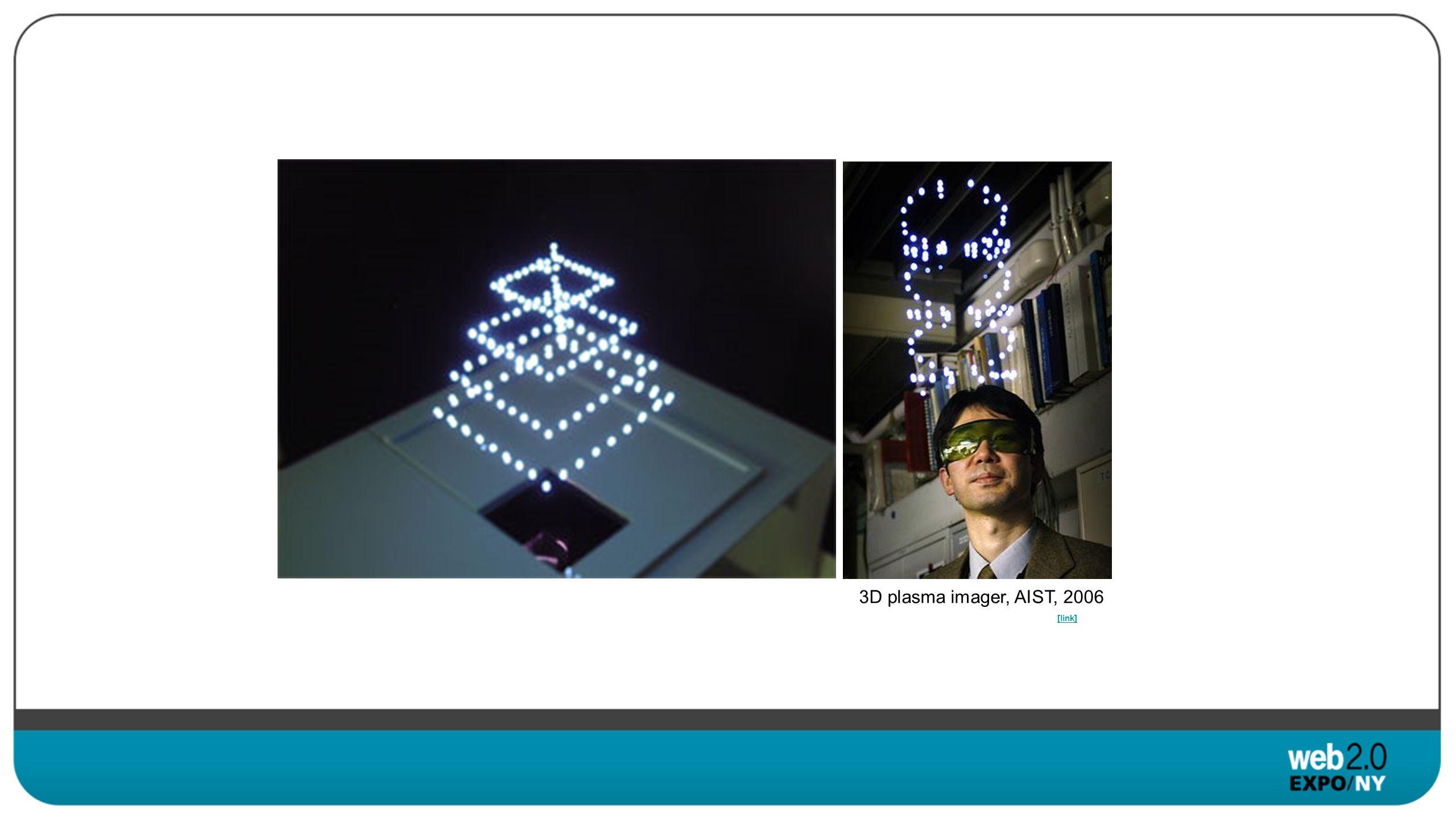 3D plasma imager, AIST, 2006 [link]